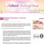 Publication Mariage Aurore & Cédric