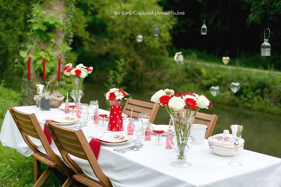 Id es d coration mariage champ tre par instants captur s for Decoration de table champetre