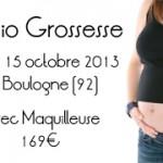 Séance Photo Femme enceinte Paris – Mardi 15 octobre 2013