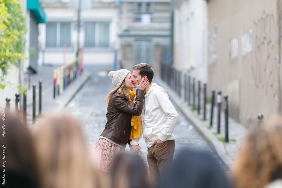 Séance photo couple Montmartre