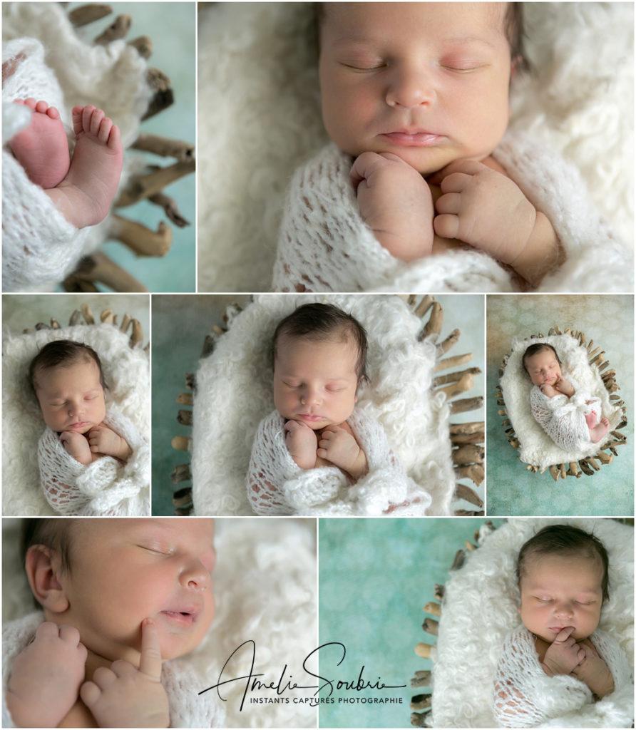 Séance photo avec bébé Paris - Clair et vert pour des photos lumineuses