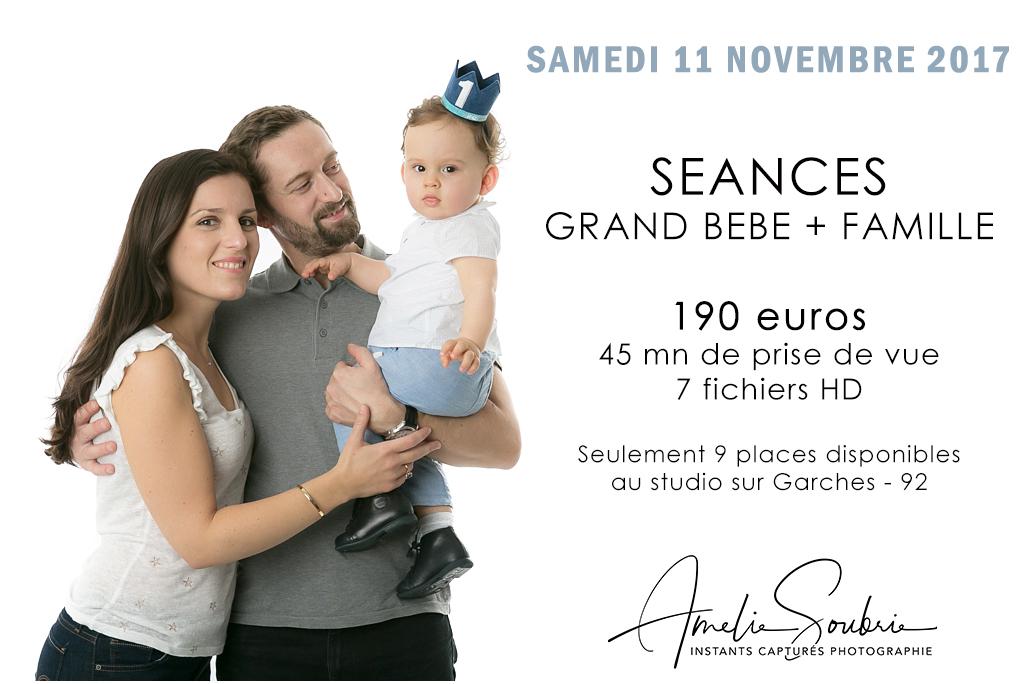 Journée Spéciale Grand bébé – Dimanche 12 novembre 2017