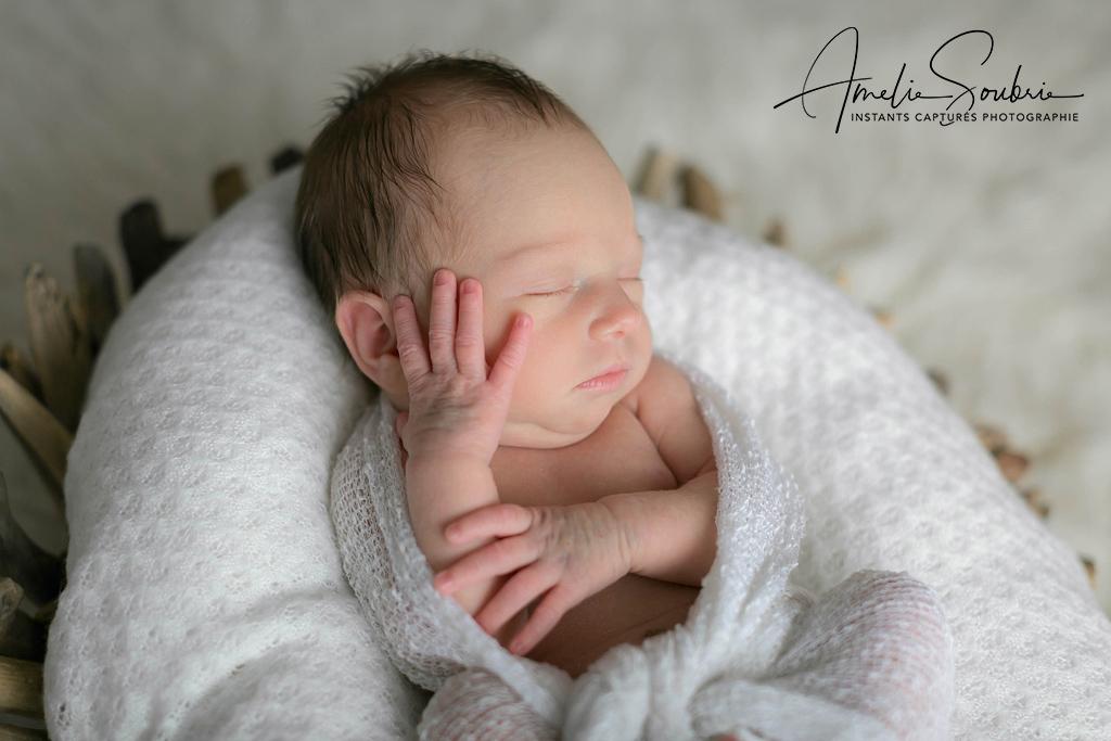 Séance photo bébé Paris - Albertine par Amélie Soubrié