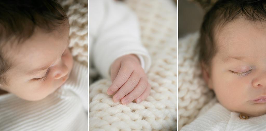 Portrait bébé habillé en studio - Louise