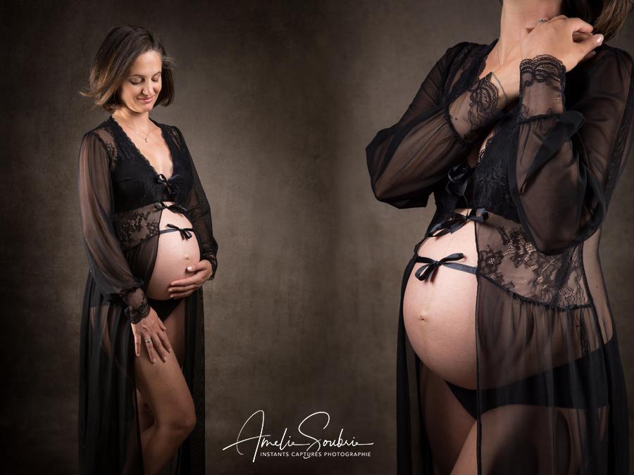 Photo Grossesse Paris - Femme enceinte