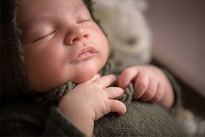 Photo avec bébé - Thomas