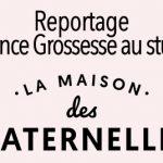La Maison des Maternelles au studio – Reportage Grossesse