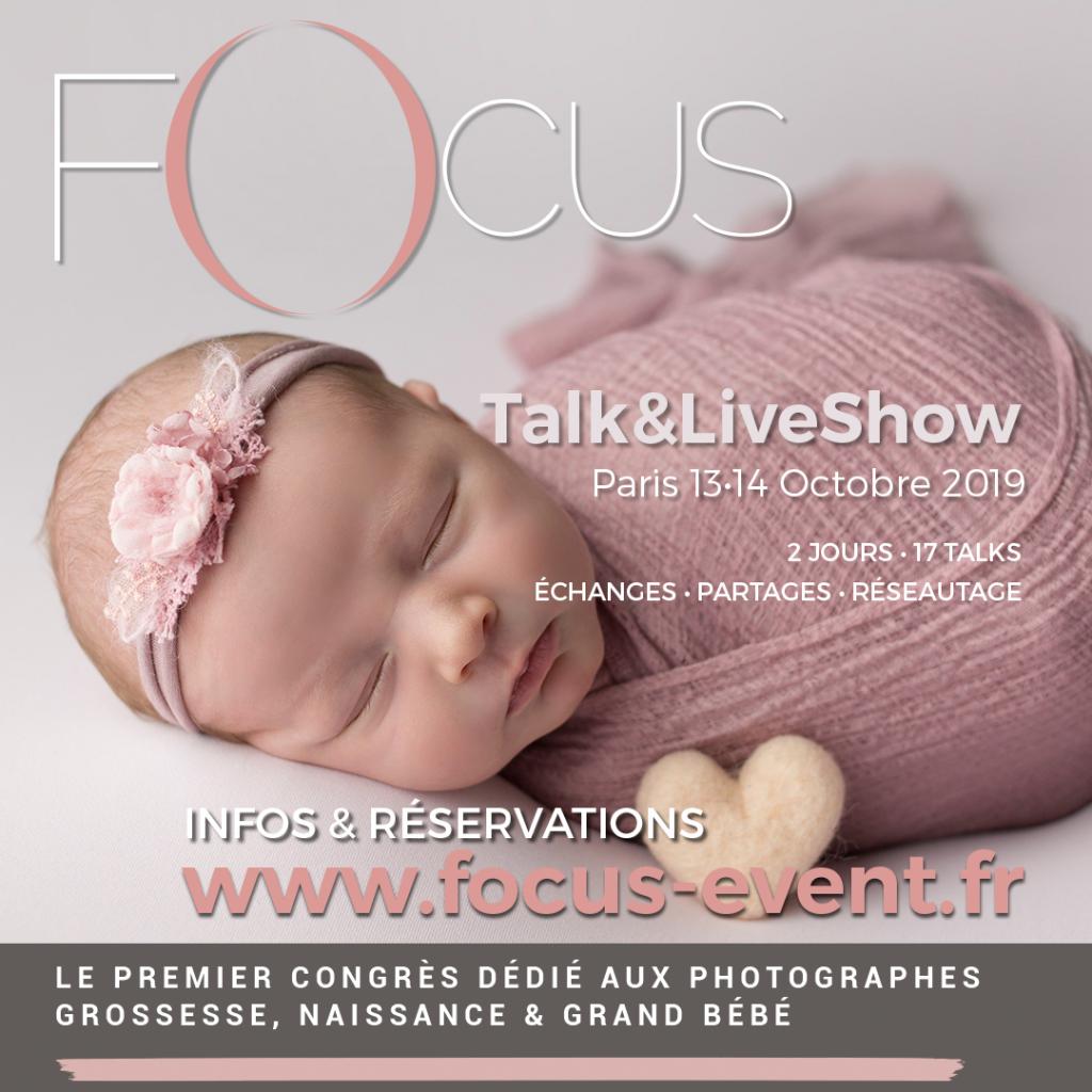 Focus - 1er Congrès dédié aux Photographes Grossesse et Nouveau-né