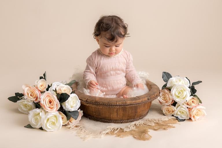 Photo grand bébé 9 mois - Alice