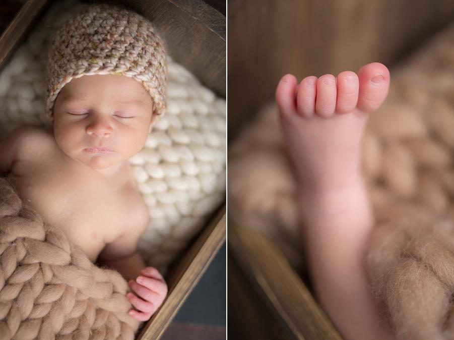 Photo bébé naissance - Hugo